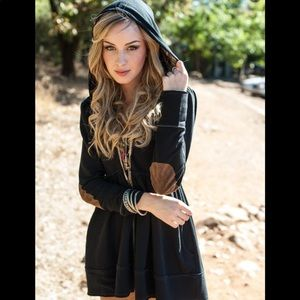 Evy's Tree Black Sophie Holiday Jacket